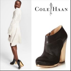 Cole Haan - Fur Booties 7.5 - Excellent condition